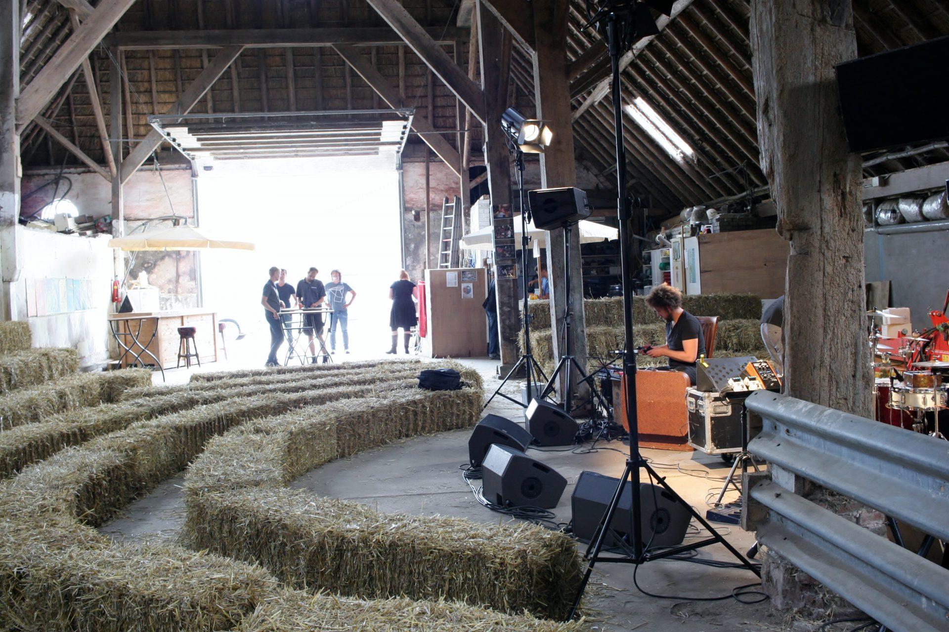 Slikovito prizorišče na kmetiji v vasi Den Ham. Foto: Dejan Pušenjak
